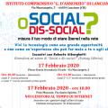SOCIAL O DIS-SOCIAL?misura il tuo modo di stare (bene) nella rete
